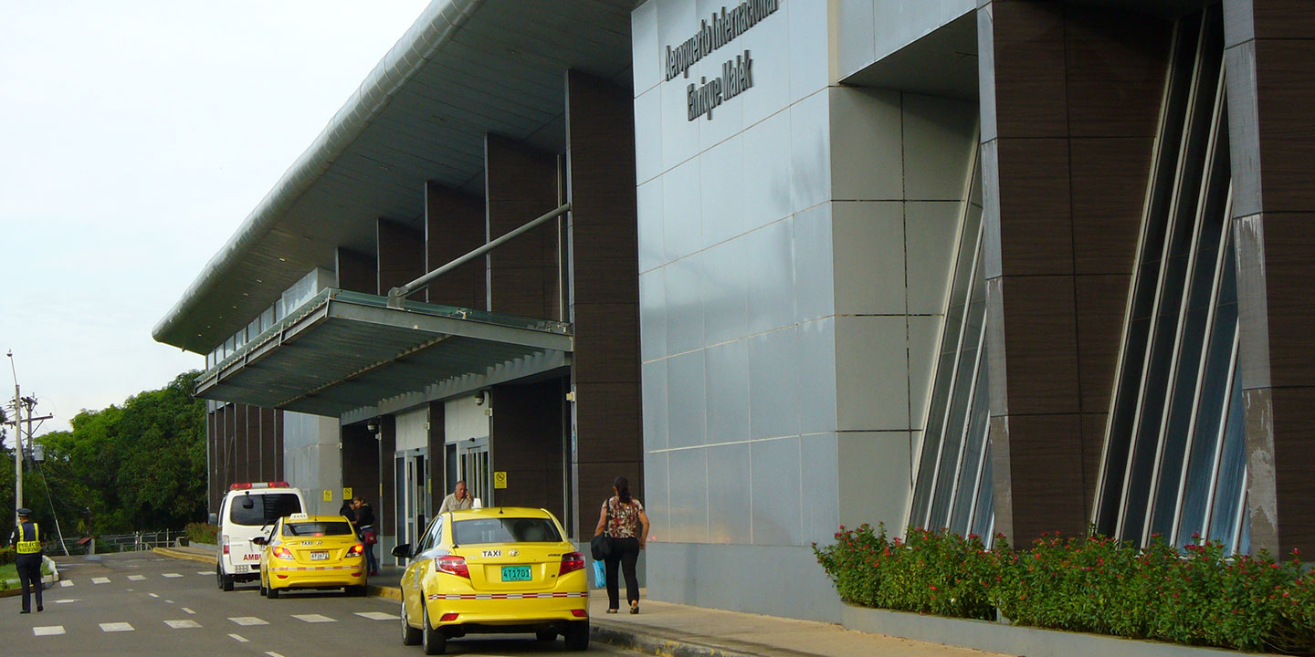Enrique Malek International Airport in David